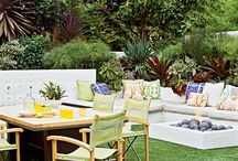 Our Favorite Outdoor Rooms / Our best design ideas for outdoor entertaining, weekend relaxing, and enjoying the pleasures of the coast.