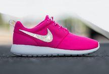Swarovski Glitter Crystals Nike Sneakers / Nike Sneakers with glitter crystals