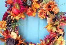Венки осень