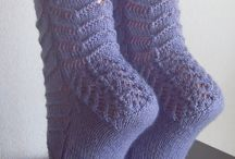 Socks / Knitted and crocheted socks.