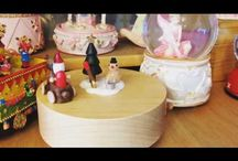 Musical Carousels & Snow Globes