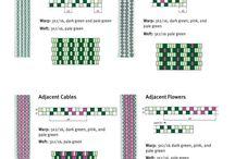 båndvev mønster