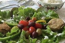 SALADS: Allergy or Gluten Free Friendly / From pasta salads, to potato salads, chicken salads and beds of vegetables, there is a recipe here for you!