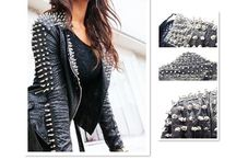 Cobra Jacket / Leather jacket with spikes