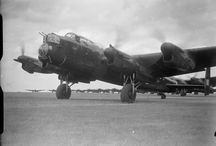 Avro Lancaster / The iconic Royal Air Force heavy bomber of WWII.