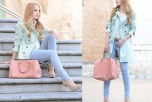 Style: pastels / Things that inspire me to get dressed! In this board you will find inspiration on how to pair and style different pastel shades.