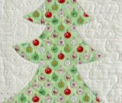 The christmas mouse quilt
