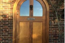 Arched doors / Bespoke arched doors oak and other woods