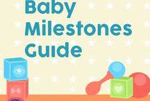 Baby Milestones Guide / Our baby milestones guide