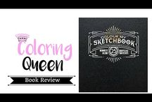 Sketchbook 1 by Bennet Klein Colouring Book