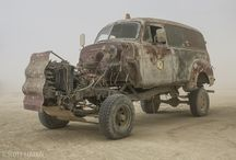 Mutant vehicle project / by Benjkha Valley