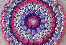 crochet averlay mandala