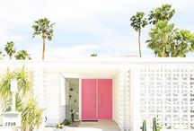 palm springs inspired
