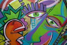 Kunst / Waanzinnige kleur en vorm combinaties