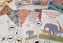 Anniversaire Safari