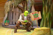 Shrek musical sets and props