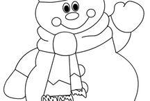 χιονάνθρωπος κατασκευή