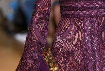 Detail gaun