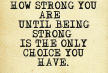 Strength during difficult times