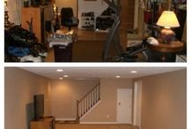 Finished Basement - Middleburg Heights / BEFORE/AFTER photos from a recent finished basement project in Middleburg Heights!