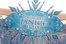 Frozen Fourth Birthday! / by Stephen N Rachael Claybourn