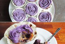 Cupcake og muffin.