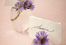 Blomster / Ideer til bryllup