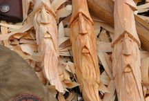 wood carving idea's