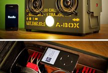 iPhone speaker box