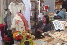 Intrecci @ Selvedge Spring Fair / Our stall @Selvedge Spring Fair 2014