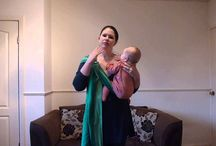 Ring Slings / Everything you want and need to know about Ring Slings!  How to thread a ringsling, positioning baby, shoulder styles, how to breastfeed, etc.