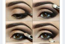 Silmien meikkaus