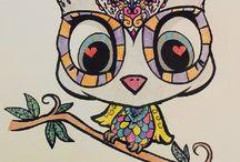 art thérapie, mes coloriages...