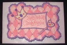 Birthday cakes for MaLysa's birthday