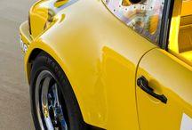 Porsche 911 yellow