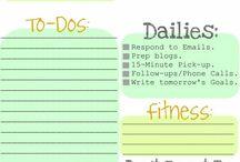 Planning/organizing.
