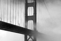 Лондонский мост черно-белый