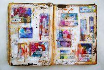 Journaling / Art journals, journaling for transformation.