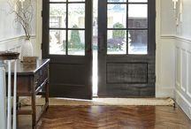 Front doors and windows