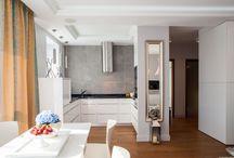 Szare wnętrza - ciągle modne / grey colours in interiors
