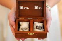 Boite aux alliances/ Wedding rings box / Ideas for the wedding rings box