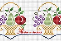 Ponto Cruz Frutas