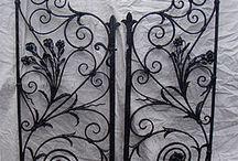 hand wrought iron
