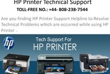 Hp Printer Tech Support Number UK 0808-238-7544