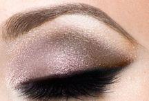 Makeup and eyebrow