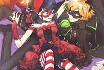 Miraclous Ladybug and Chat Noir