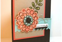 Flower fest cards RETIRED / Stampin Up goodies  - current items available to purchase from http://bagsthatone.stampinup.net/