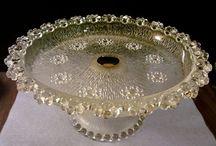 Vintage glassware patterns