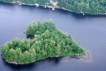 Islas con corazón / Heart Islands / en forma de corazón