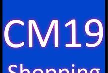 CM19 Shopping / Sales CM19 Postcode district Harlow